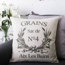 'Grains Sac' Cushion Cover