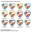 Personalised Heart Photo Message Bottle