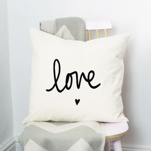 Love Cushion - engagement gifts