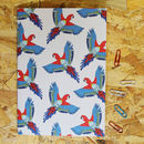 A5 Parrot Travel Notebook