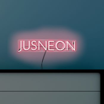 Design Your Own Neon Business Wall Art