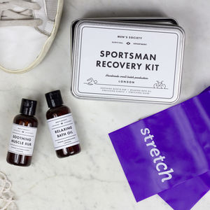 Personalised Sportsman Recovery Kit - gifts for fathers