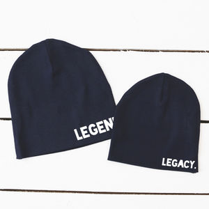 Parent And Child Beanie Set