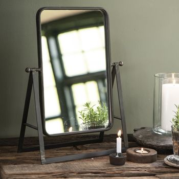 Industrial Dressing Table Mirror