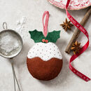 Felt Christmas Pudding Mini Kit