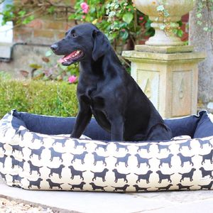 Large Labrador Dog Bed - dogs