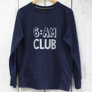 '6am Club' Sweater - women's fashion