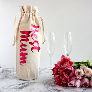 Metallic Mother's Day Bottle Gift Bag - what's new