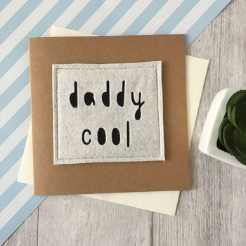 'Daddy Cool' Birthday Card