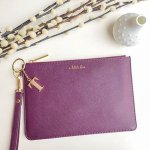 Personalised 'A Little Love' Secret Saying Clutch Bag - evening bags