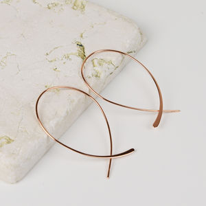 Contemporary Curve Earrings - earrings