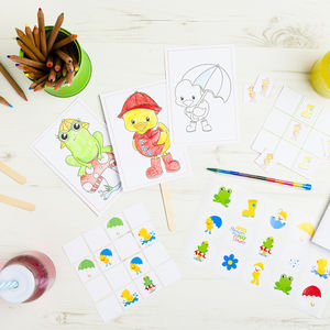 Personalised Mini Rainy Day Activity Bundle