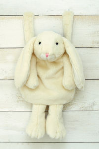Cream Bunny Hand Muff - hats, scarves & gloves