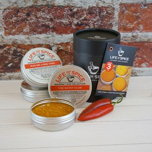 Mini Street Food Rub Collection - personalised