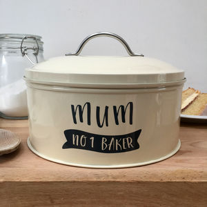 Personalised Banner Cake Tin