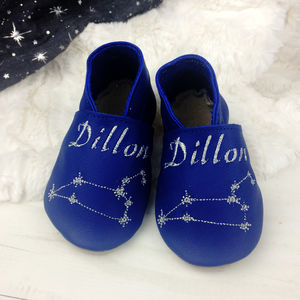 Personalised Constellation Baby Shoes - gifts: under £25