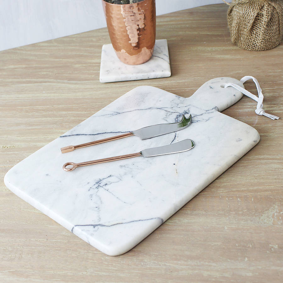 Marble Chopping Board By Marquis Amp Dawe
