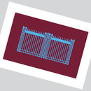 'Boleyn Gates' Minimalist Graphic West Ham United Mug