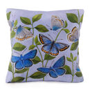 Butterflies Cushion [front]