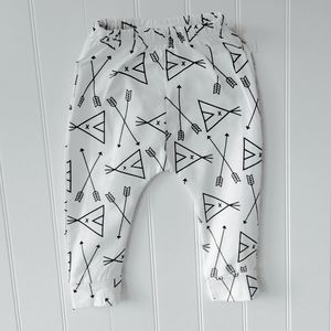 Cotton Te Pe Baby Trousers - clothing