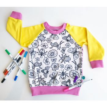 Colour Your Own Flower Top