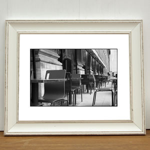 Chairs, The Royal Palace Gardens Photographic Art Print