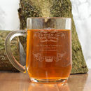 Personalised Tankard Father Of The Bride