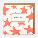 'Superstar' Stars Thank You Card