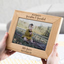 Personalised Promoted To Grandparents Photo Frame Gift