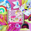 Personalised Shine Like A Unicorn Craft Kit