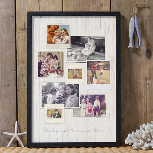 Personalised Vintage Style Photo Print