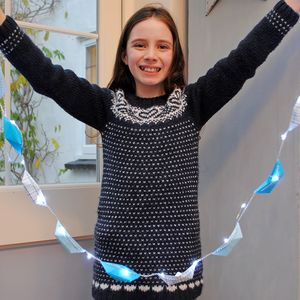 LED Paper Boat Bunting Garland - children's room accessories