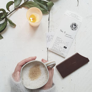 Organic Dark Chocolate - luxury chocolates