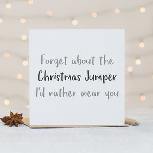 'Christmas Jumper' Christmas Card - cards