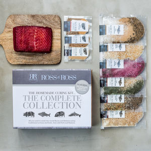 Make Your Own Bacon And Salmon Kit Complete Collection