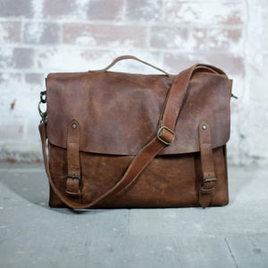 Leather Satchel - satchels