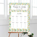 Martha Wedding Table Plan