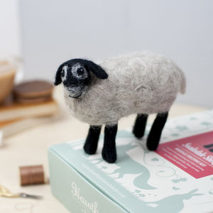 Swaledale Sheep Needle Felting Craft Kit