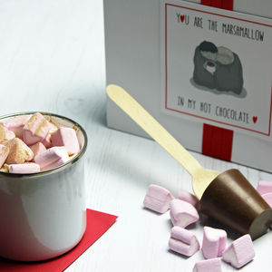 Hot Chocolate And Marshmallow Valentine Gift Set - valentine's gifts for him
