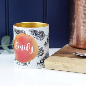 Personalised Fern Mug - gifts for her