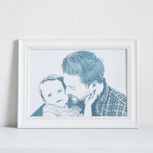 Personalised Foil Photograph Print - photography & portraits
