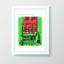 The London Pie And Mash A3 Print