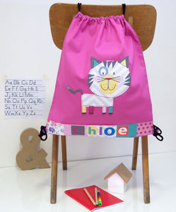 Childrens Cat School Bag