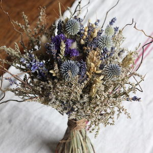 Dried Bridal Posy The Whitney Wedding Collection