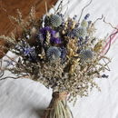 Bridal Posy Blue Moon Dried Flowers
