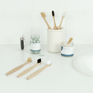 Sustainable Bamboo Toothbrushes - mindful living