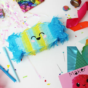 Bon Bon Mini Pinata Craft Kit, Party Decoration