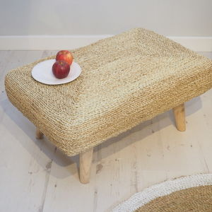 Luxury Wicker Ottoman
