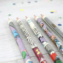 Personalised Superhero Pencil Set