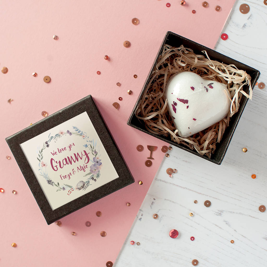 Personalised 'Love You Mummy' Bath Bomb In Gift Box